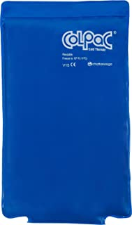 "Chattanooga ColPac Cold Therapy, Blue Vinyl, Medium/Half-Size Cold Pack (7.5"" x 11"")"