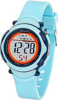 Relojes para niños,Reloj Deportivo Digital a Prueba de Agua
