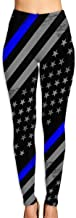 thin blue line leggings womens