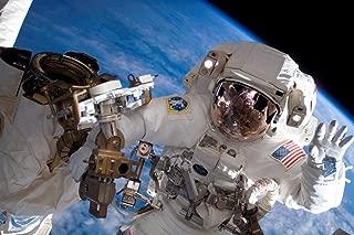 Astronaut International Space Station Photo Photograph Cool Wall Decor Art Print Poster 36x24