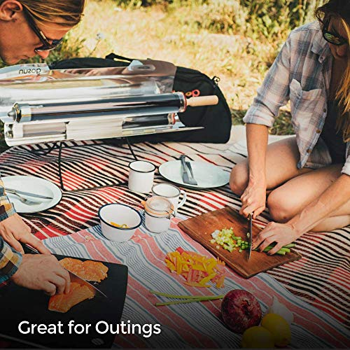 GOSUN Sport ProPack, Portable Solar Cooker Package, Solar Oven Great for Camping and Cooks Food in as Little as 20 Minutes