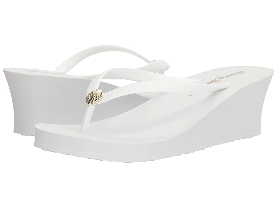 Tommy Bahama Whykiki Wedge Solid (White 2) Women