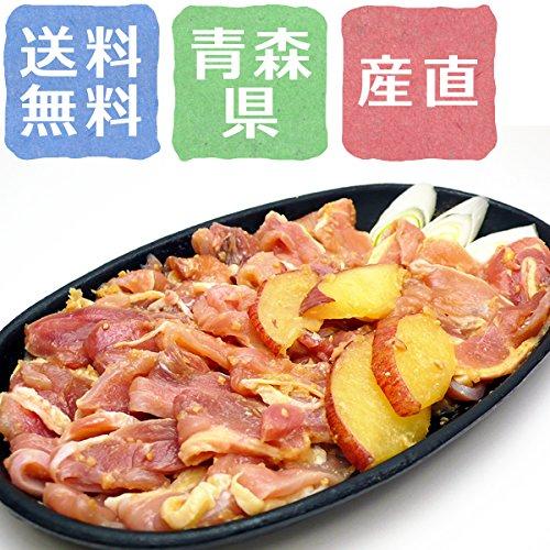 高品質な地鶏「青森シャモロックのリンゴ味噌漬」【青森県】【鶏肉】【産地直送】