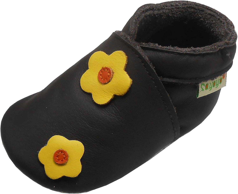 SAYOYO Baby Leather New item Soft Sole Over item handling Infant Toddler Girl M Crawling Boy