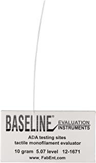 Baseline 12-1671-40 Tactile Monofilament, LEAP Program, Disposable, 5.07 to 10 gram (Pack of 40)