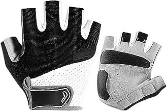 Hahepo Fietshandschoenen, instelbaar, mountainbike-handschoenen, antislip en schokabsorberende vingerhandschoenen, ademen...