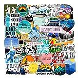 Best Hiking Stickers - Vinyl VSCO Girls Stickers Hydro Flask Waterproof Skateboard Review