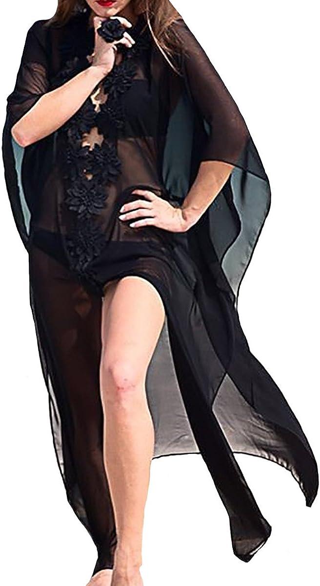 Bestyou Women's Kaftan Cover Up Dress Swimwear Caftan Loungewear Swimsuit Beach Long Dress