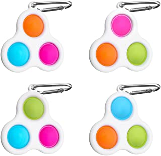 3PCS KITEENAL Sensory Fidget Toys Silicone Squeeze Decompression Toy Games Stress Relief Toys for Adults Funny Toy for Kids Teens