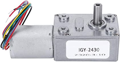 Small 12v DC Worm Gear Reducer Motor Reversible