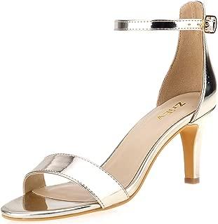 Best gold mid heels Reviews