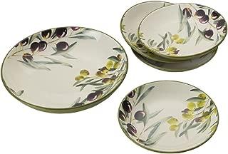 Mikasa 5225080 Pasta Bowl Set, Olive