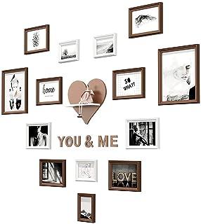 Conjunto de collage de cuadros de madera de 14 piezas | Conjunto de marcos de fotos