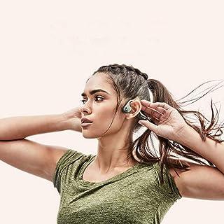 AfterShokz Trekz Titanium Open-Ear Wireless Bone Conduction Headphones Bundle with Brilliant Reflective Strips Blue AS600O...