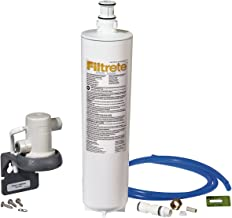 Filtrete Advanced Under Sink Quick Change Water Filtration System, Easy to Install, Reduces 0.5 Microns Sediment and Chlorine Taste & Odor, Includes 6 Month Filter (3US-PS01).  Manufactured by 3M.