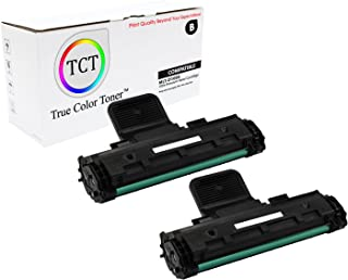 TCT Premium Compatible Toner Cartridge Replacement for Samsung MLT-D108S Black Works with Samsung ML-1640 1641 2240 2241 Printers (1,500 Pages) - 2 Pack
