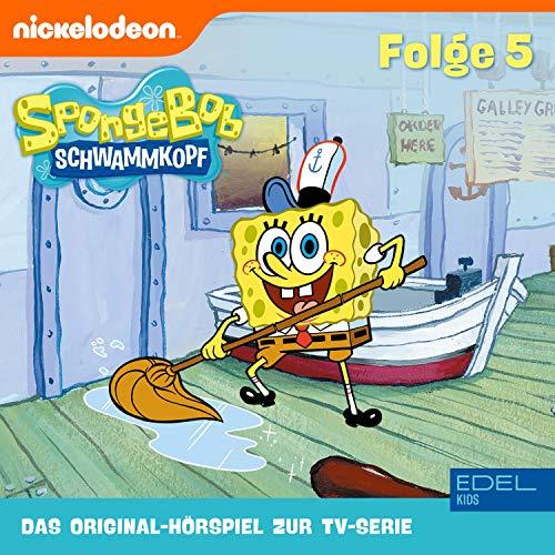 SpongeBob Schwammkopf 5. Das Original-Hörspiel zur TV-Serie Titelbild