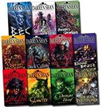 Darren Shan Demonata Collection: Thin Executioner, Demon Thief, Lord Loss, Slawter, Hell's Heroes, Dark Calling, Wolf Island, Death's Shadow and More