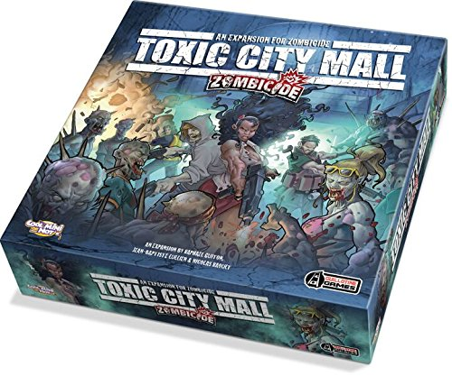 Zombicide Toxic City Mall Expansion Board Game