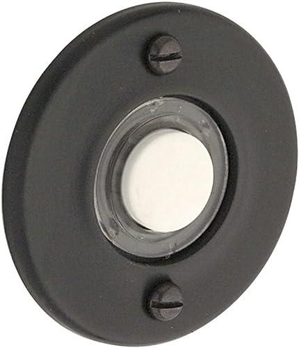 new arrival Baldwin sale 4851190 Round Bell wholesale Button, Black outlet sale