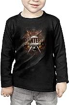 Baby Boys/Girls Pantera Heavy Metal Band Long Sleeve T Shirts