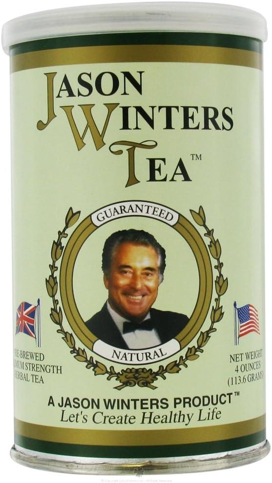 Jason Winters Pre-Brewed Herbal Spring new work Tea Original Ranking TOP5 - 2 Oz 4 Pac Blend