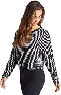 Rockwear Activewear Women's Midnight Stripe Tie Top from Size 4-18 for