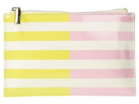 Kate Spade New York Two-Tone Stripes Pencil Pouch