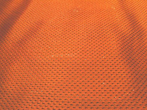 SyFabrics Sports Jersey Micro mesh Fabric 58 inches Wide Orange