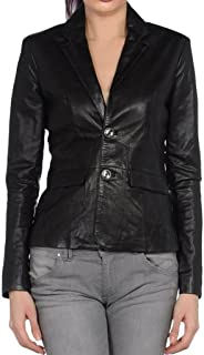 Leather Lovers Women's Lambskin Leather Bomber Biker Jacket Coat - Winter Wear - Extremely Soft & Smooth