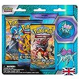 Lively Moments Pokemon X & Y Evolution - Juego de 3 tarjetas de expansión (texto en inglés)
