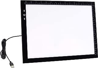 HSK B4 Light Pad Light Box 40 and 30 Centimeter Ultra Thin 5 Millimeter With 10 Watt Led light