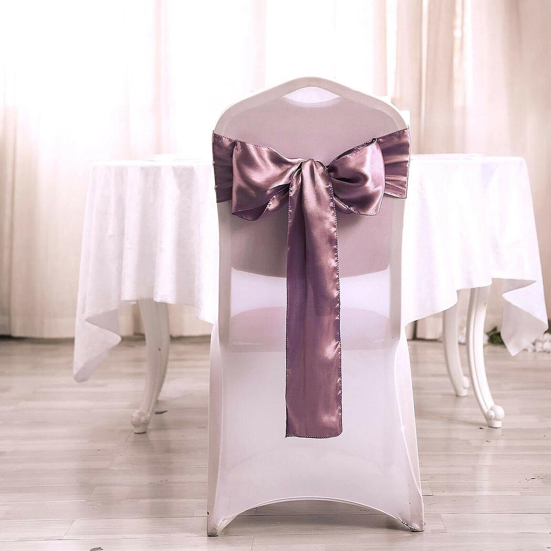 10 pcs Satin Chair Sashes Bows Decor naKN Sales Gifts results No. 1 Wedding Reception Ties