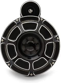 Arlen Ness 70-204 Black Billet Horn Kit (Beveled)