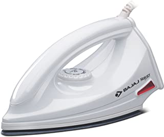 Bajaj Majesty DX 6 1000-Watt Dry Iron (White)