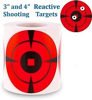 orange target stickers