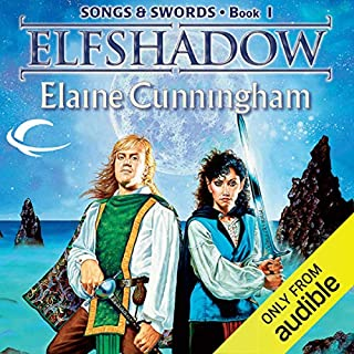 Elfshadow audiobook cover art
