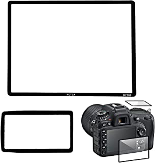 Irfora Professional LCD Optical Glass Screen Protector for Nikon D7100 DSLR Camera