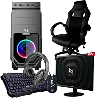 Pc Gamer Completo Start NLI82922 AMD 320GE 8GB (Vega 3 Integrado) SSD 240GB + Cadeira Gamer