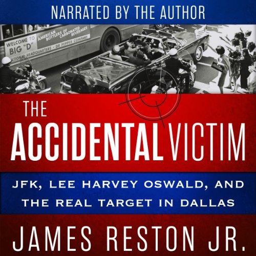 The Accidental Victim audiobook cover art
