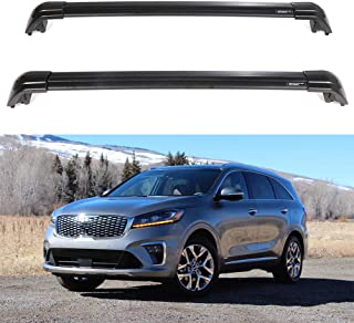 ECCPP Roof Rack Cross Bars Luggage Cargo Carrier Rails Fit for 2015 2016 2017 Kia Sorento Sport Utility,Aluminum
