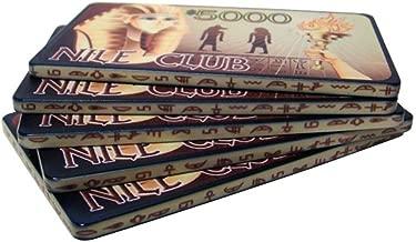 Bry Belly CPNI-$5000 5 5 $5000 Nile Club 40 Gram Ceramic Poker Plaques