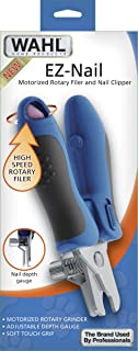 Wahl EZ-Nail Rotary Filer and Nail Clipper for dog or cat or house pet nail clipper and filing by The Brand Used By Professionals.  #5960-300