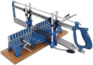 Herramienta manual de sierra de inglete de precisión manual, varios ángulos, hierro 3950g para aluminio