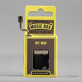1263 Kikkerland Love Me Do Crank Music Box