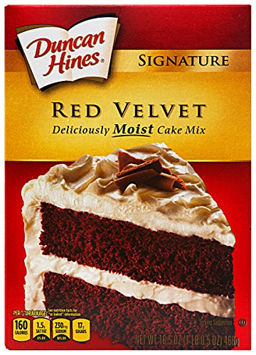 Duncan Hines Red Velvet Cake Mix