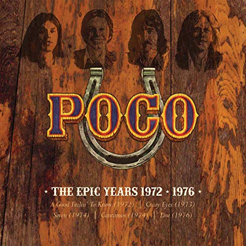 The Epic Years 1972-1976 (5 CD Box Set)