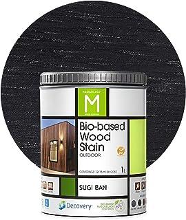 Barniz Madera Exterior | Bio-based Wood Stain | 1 L | Barniz ecológico para todo tipo de madera | Lasur madera exterior | ...
