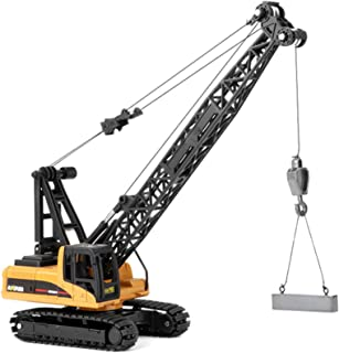 Scale 1/50 Alloy Crane Model Die-Cast Engineering Vehicle Alloy Models Construction Truck Toy for Kids