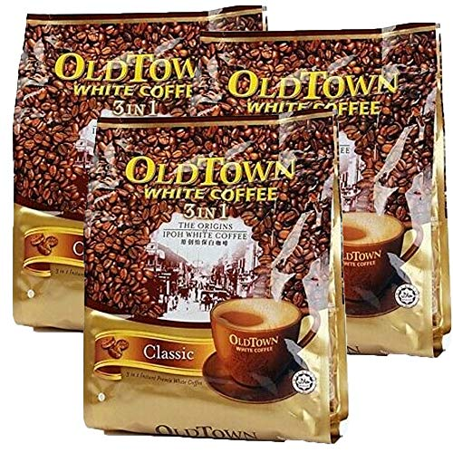 Oldtown 3 in 1 White Coffee Classic (15 sachets x3 Packs)